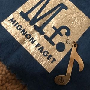 Mignon Faget Music Note Charm